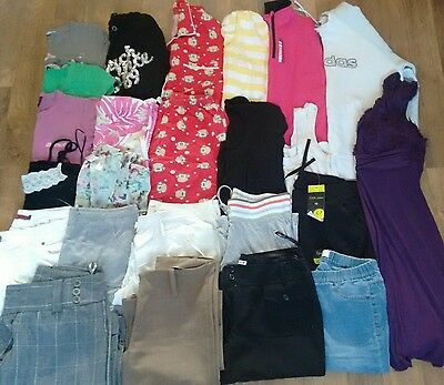Large Bundle of Ladies Womens Clothes - Size 10 Bench New look etc