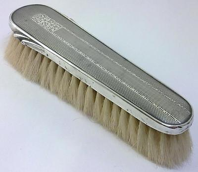 Antique Art Deco hallmarked Sterling Silver-backed Grooming/Clothes Brush – 1913