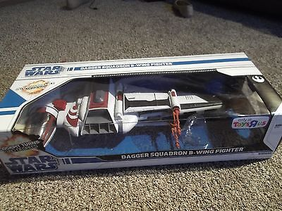 2008 Star Wars The Legacy Collection Dagger Squadron B-Wing Fighter Flash Sale!