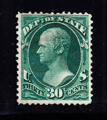 US O66 30c State Department Unused F-VF NG SCV $240