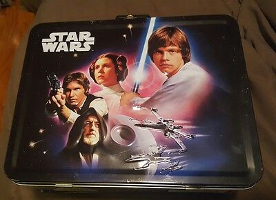 Star Wars Tin Box co. Lunchbox Container