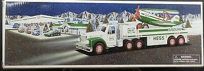 Hess 2002 Toy Truck and Airplane Brand New in Box