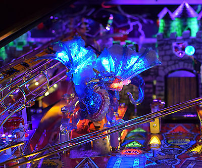 Medieval Madness Pinball Lighted Dragon mod
