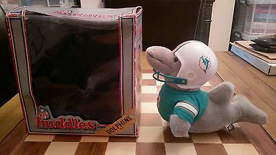 1983 NFL HUDDLES Miami Dolphins Mascot Officially Licensed Product Boxed softtoy