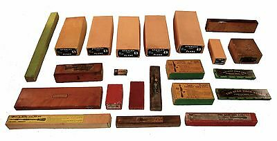 Collection of Empty Boxes for Tools - Stanley No. 5, Yankee, Millers Falls, Etc.