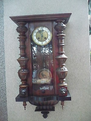 beautiful, old regulator__Wall Clock__77cm__