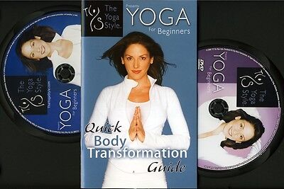 YOGA For Beginners 2 DVD Set weight loss body workout exercise The Yoga Style