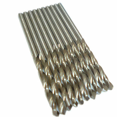 10pcs 2mm Twist Drills Hss Drill Bit Metric High Speed Steel Twist Drills Bits