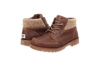UGG Australia Kids K Orin Wool Suede Boot 1008001K in Chocolate Size 2-6 NEW