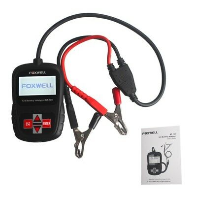 AU Ship FOXWELL BT100 12V Multiple Battery Analyzer Tester for Flooded,AGM,GEL