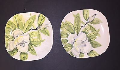 Red Wing Magnolia Dinner Plates Set of Two