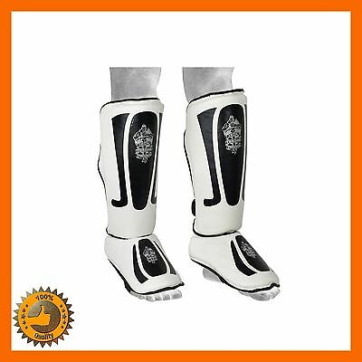 Gel Shin Instep Foot Pads Mma Ufc Leg Foot Guards Kick Mma Ufc Muay Thai Protect