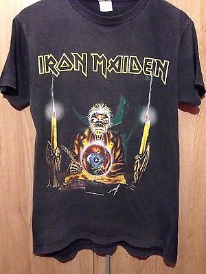 Iron Maiden Vintage Rare T Shirt Seventh Son Of Seventh Son world Tour 88