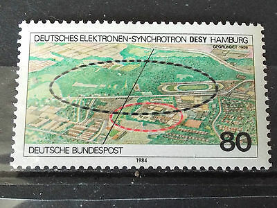 Timbre neuf Allemagne 1984 : Synchrotron DESY à Hambourg