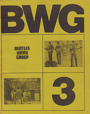 DUTCH MAGAZINE BEATLES WERK GROEP (BWG) 1975 nr. 03