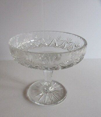 Leaded Crystal Large Compote