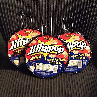 3X Jiffy Pop Butter Flavored Popcorn 4.5 Oz