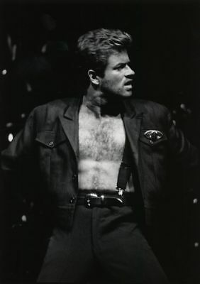 George Michael Music Icon Glossy Photo Print Picture A4