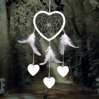 Dream Catcher with Feather Car Wall Hanging Decor Decoration Door Ornament AU