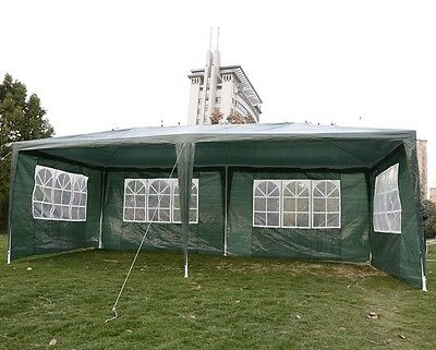 Garden Party Gazebo Waterproof, Tent 3 x 6m. Ideal For Events, Parties etc W/Bag