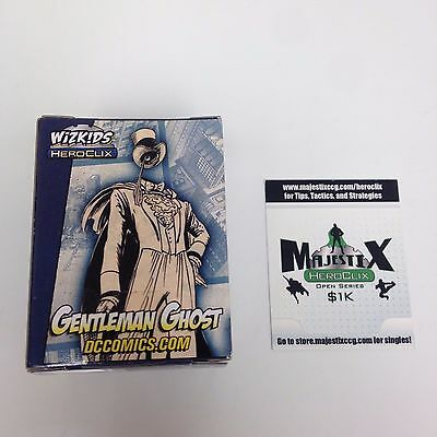 Heroclix 2013 Convention Exclusive Gentleman Ghost #D-011 Limited Edition w/card
