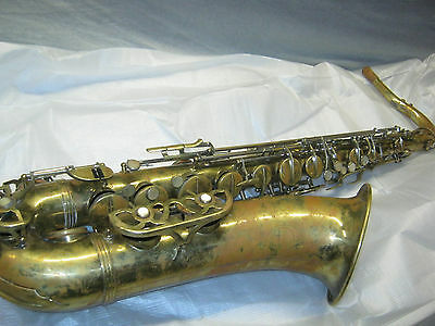 50's MALERNE LEGGETT SPECIAL TENOR SAX / SAXOFON - made in FRANCE