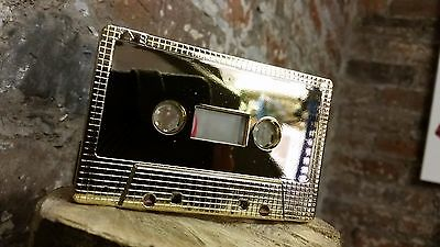 Gold Metallic C90 cassette tape rare collectable blank audio NEW 2016 investment