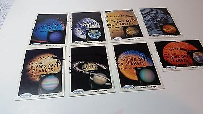 2016 Set of 8 Spaceshots NASA Photos Views of Our Planets FDC
