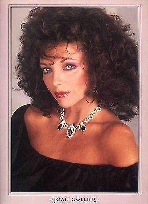 Joan Collins Poster . Film Movie Actress . The Stud Dynasty The Bitch . Not Dvd
