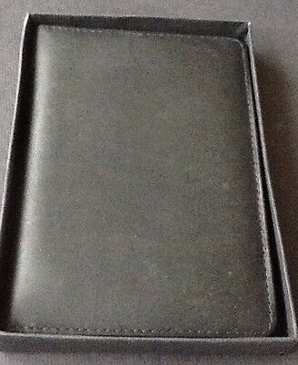 Leather Passport Holder & Travel Wallet Id Card Case With Gift box