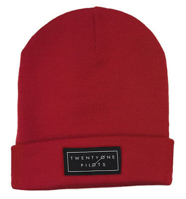 Twenty One Pilots 'Logo (Red)' Beanie Hat - NEW & OFFICIAL!
