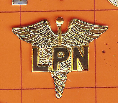 Licensed Practical Nurse -  LPN  - Lapel Pins