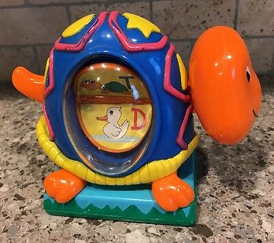 Evenflo Exersaucer Switch A Roo Flipping Letter Turtle Toy Baby Replacement Part