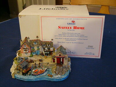 """RNLI Collection Danbury Mint  - Jane Hart """"Safely Home"""" Boxed with Certificate"""