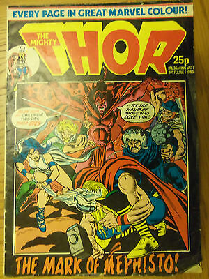 The Mighty Thor-No 7-the mark of mephisto