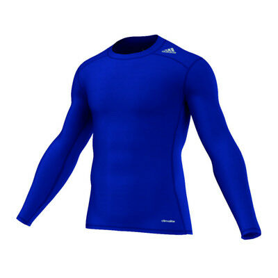 adidas Tech Fit Base Longsleeve Shirt Dunkelblau