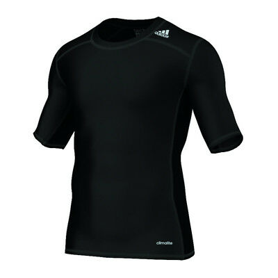 adidas Tech Fit Base Tee Kurzarmshirt Schwarz