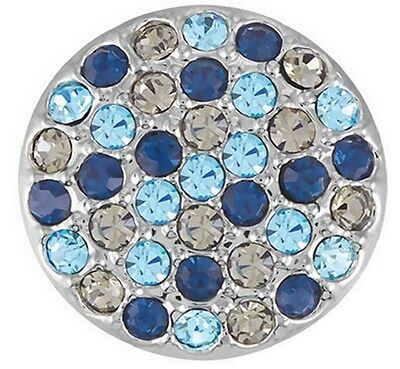 GINGER SNAPS™ RITZY-NAVY/GRAY MIX Jewelry-BUY 4, GET 5TH $6.95 SNAP FREE
