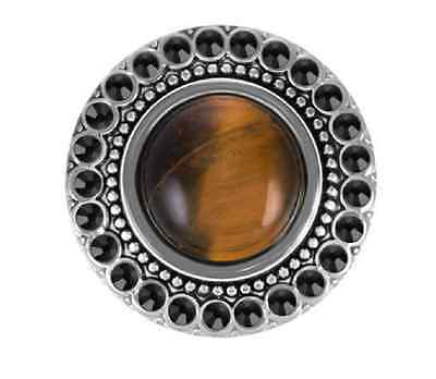 GINGER SNAPS™ TIGER'S EYE / ONYX Jewelry - BUY 4, GET 5TH $6.95 SNAP FREE