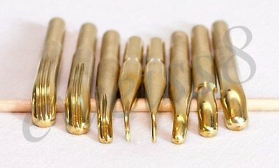 NEW! 9 Somebana Technique Flower Making Brass Tools incl Soldering Iron