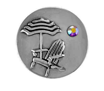 GINGER SNAPS™ BEACH CHAIR Jewelry - BUY 4, GET 5TH $6.95 SNAP FREE