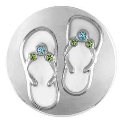 Buy 4, Get 5Th $6.95 Snap Free Ginger Snaps™ Jewelry Flip Flops Sn21-28