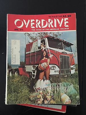 Overdrive Magazine The Voice of the American Trucker April 1973 Seabees Vietnam