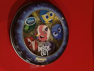 Disney Store INSIDE OUT Magnets set Bing Bong Joy Disgust Fear Anger Sadness