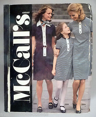 McCall's Patterns CATALOG - 1971 ~ Giant Store Counter Pattern Book,Shelley Hack