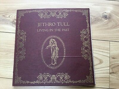 Jethro Tull Living In The Past 1St Issue Hardback Book Type With Double Lp 1972