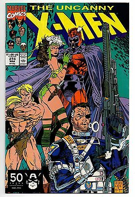 1991 The Uncanny X-Men #274 Marvel Jim Lee Rogue by Magneto's Side! Nick Fury