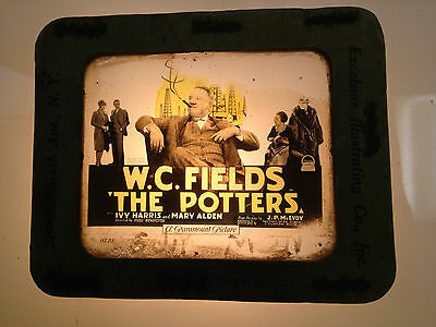 1927 Wc Fields The Potters Glass Movie Coming Attraction Slide