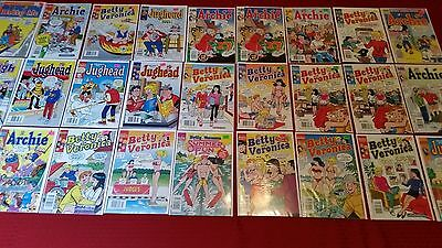 Archie,Betty And Veronica,Jughead Comic Lot Of 27 Vf-NM,Archie Comics
