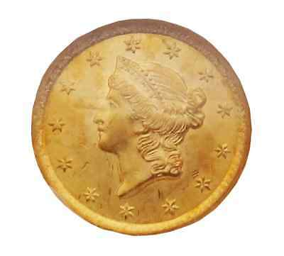1852 Gold Liberty  One Dollar $1  NGC MS 62 US Coin Y165